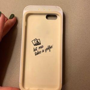 IPhond 6s Light up Selfie case